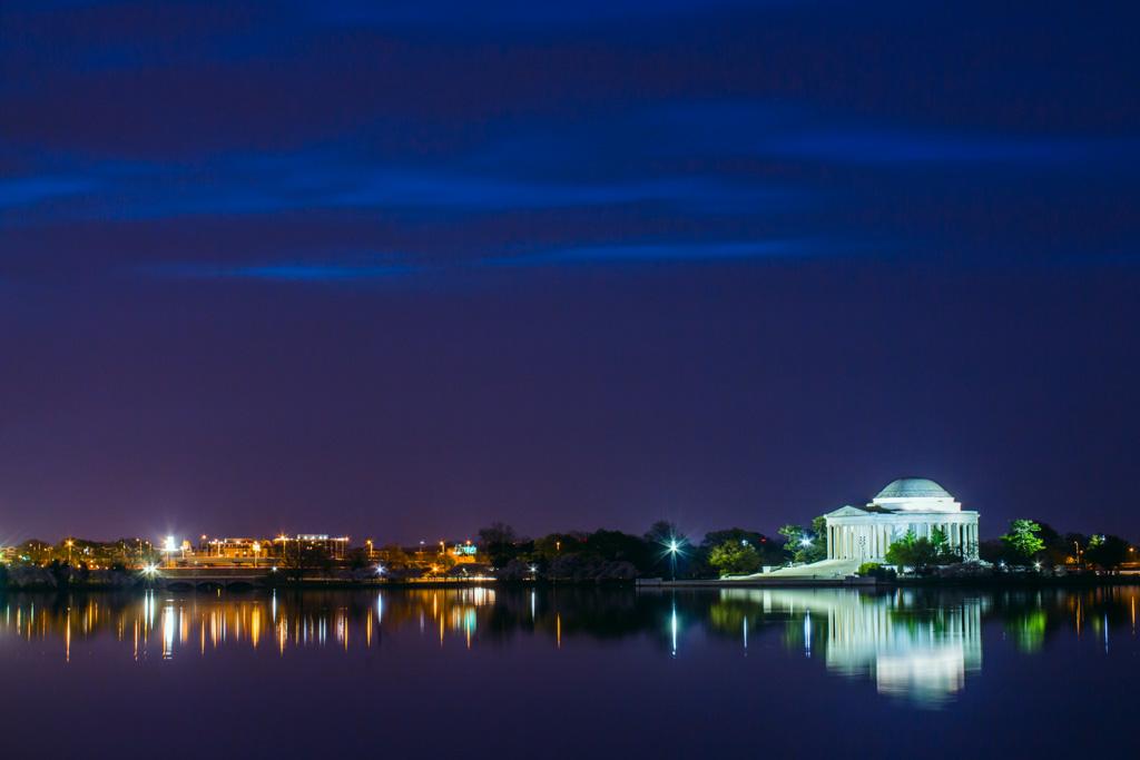 Jefferson Memorial Before Sunrise