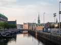 Copenhagen Stock Exchange and Waterway