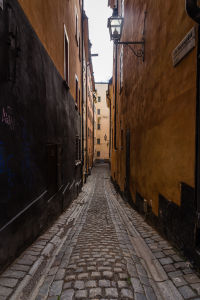 Alleyways in Gamla Stan