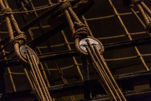 Ropes on the Vasa