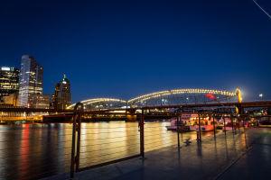 Smithfield Street Bridge at Night