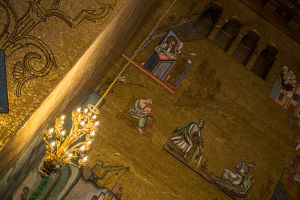 The Stockholm City Hall's Golden Room